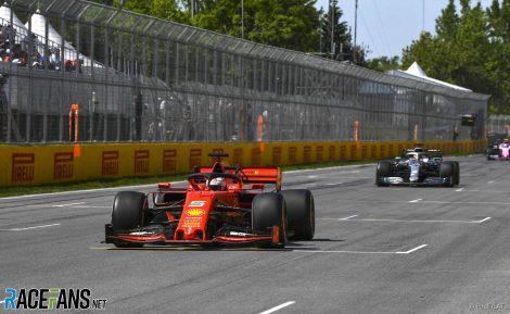 Sebastian Vettel, Lewis Hamilton, Circuit Gilles Villeneuve, Montreal, 2019