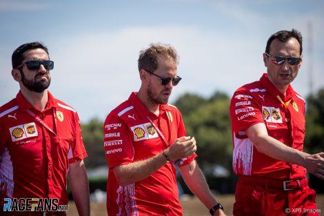 Sebastian Vettel, Ferrari, Paul Ricard, 2019