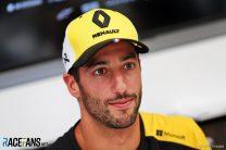 Ricciardo accepts one of his two last-lap penalties