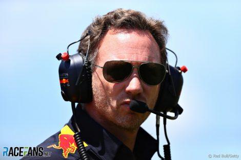 Christian Horner, Paul Ricard, Red Bull, 2019