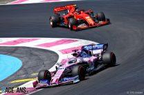 Sergio Perez, Racing Point, Paul Ricard, 2019