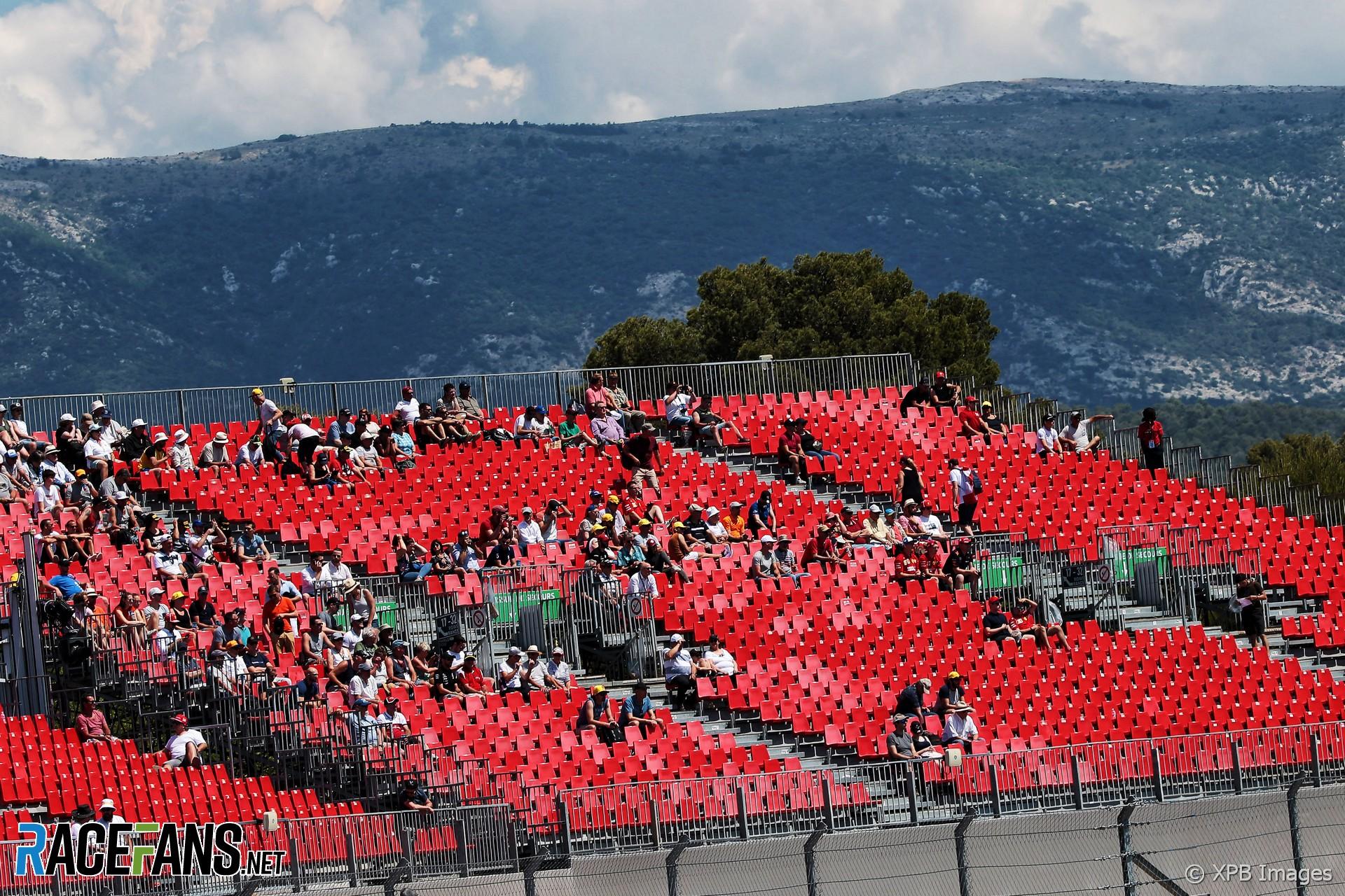 Fans, Paul Ricard, 2019