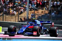 Alexander Albon, Toro Rosso, Paul Ricard, 2019