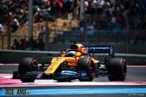 McLaren make 3.5-second leap forward in France