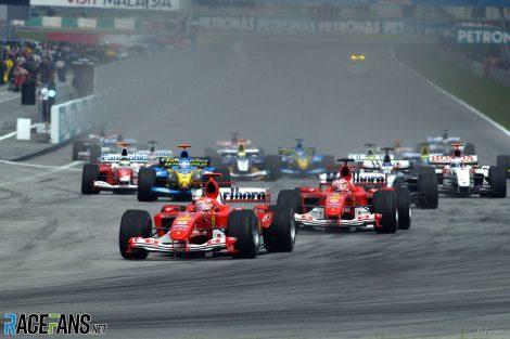Start, Sepang International Circuit, 2004