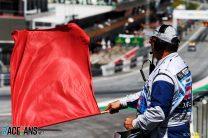 Red flag, Red Bull Ring, 2019