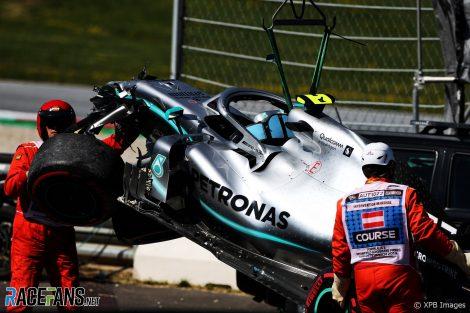 Valtteri Bottas, Mercedes, Red Bull Ring, 2019