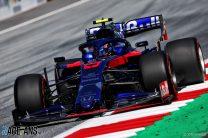 Alexander Albon, Toro Rosso, Red Bull Ring, 2019