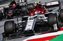 Antonio Giovinazzi, Alfa Romeo, Red Bull Ring, 2019