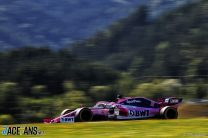 Sergio Perez, Racing Point, Red Bull Ring, 2019