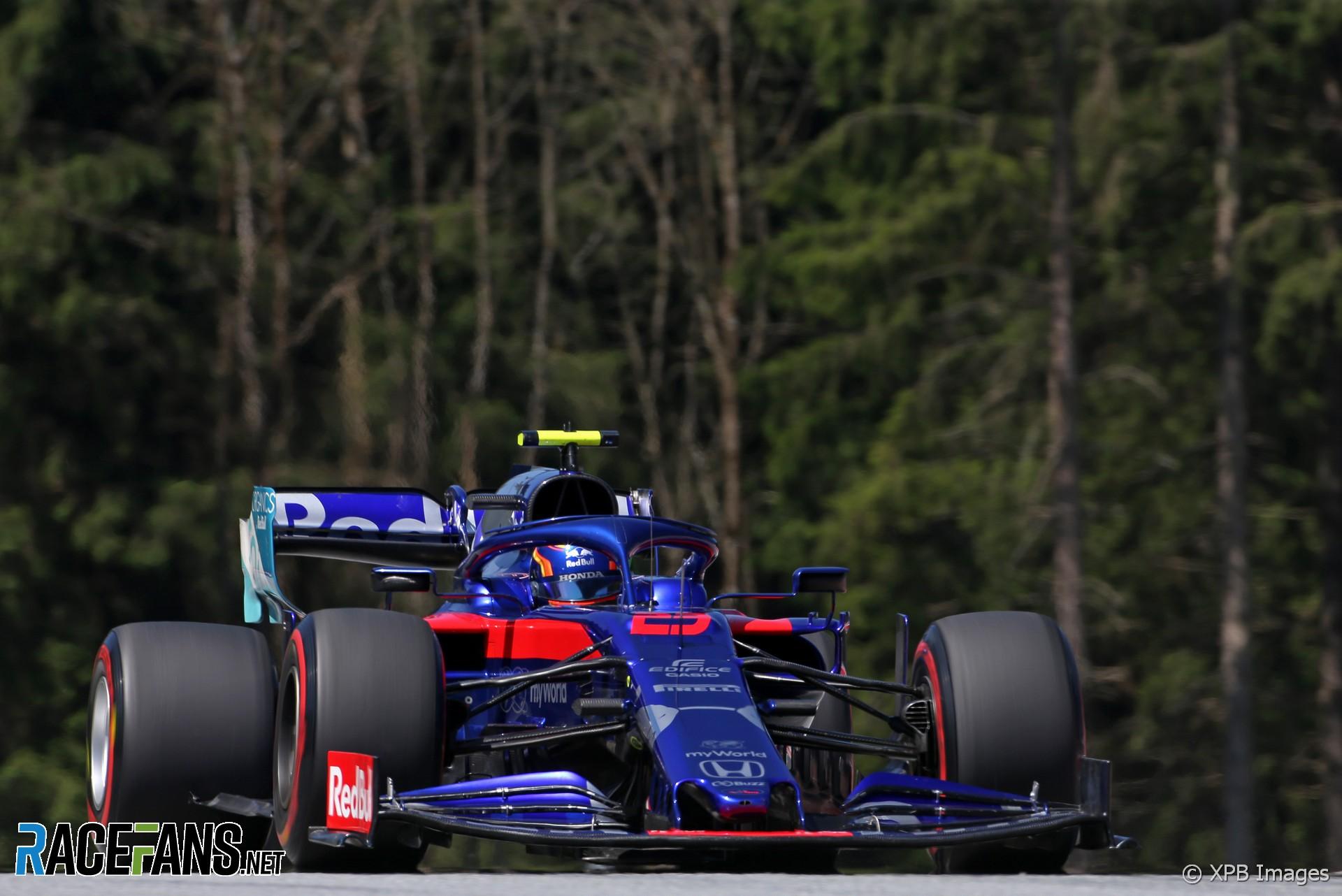 Alexander Albon, Toro Rosso, Red Bull Ring, 2019 · RaceFans