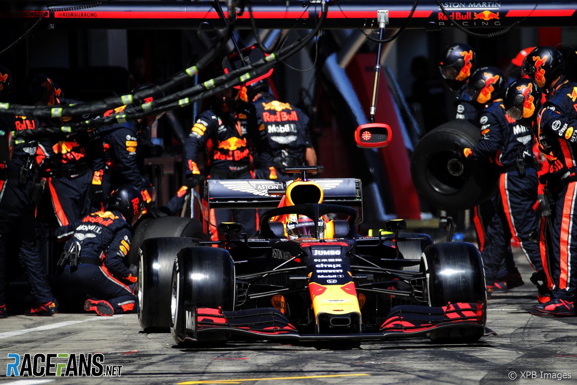 Max Verstappen, Red Bull, Red Bull Ring, 2019 · RaceFans