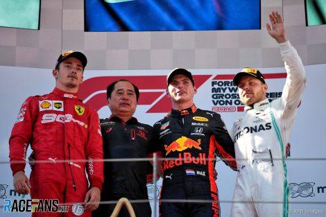 Charles Leclerc, Sebastian Vettel, Valtteri Bottas, Red Bull Ring, 2019