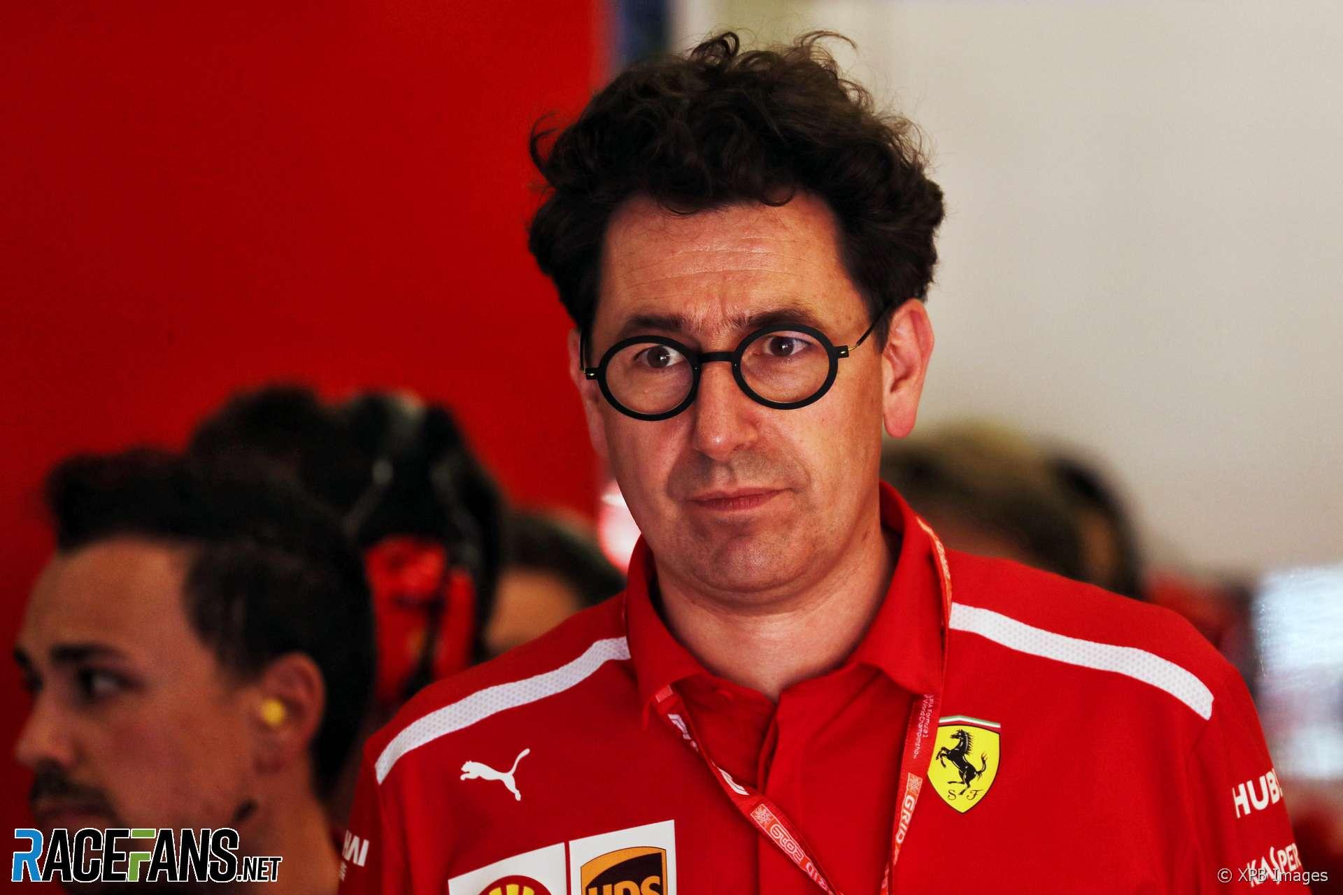 Mattia Binotto, Ferrari, Red Bull Ring, 2019