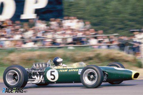 Jim Clark, Lotus, Zandvoort, 1967