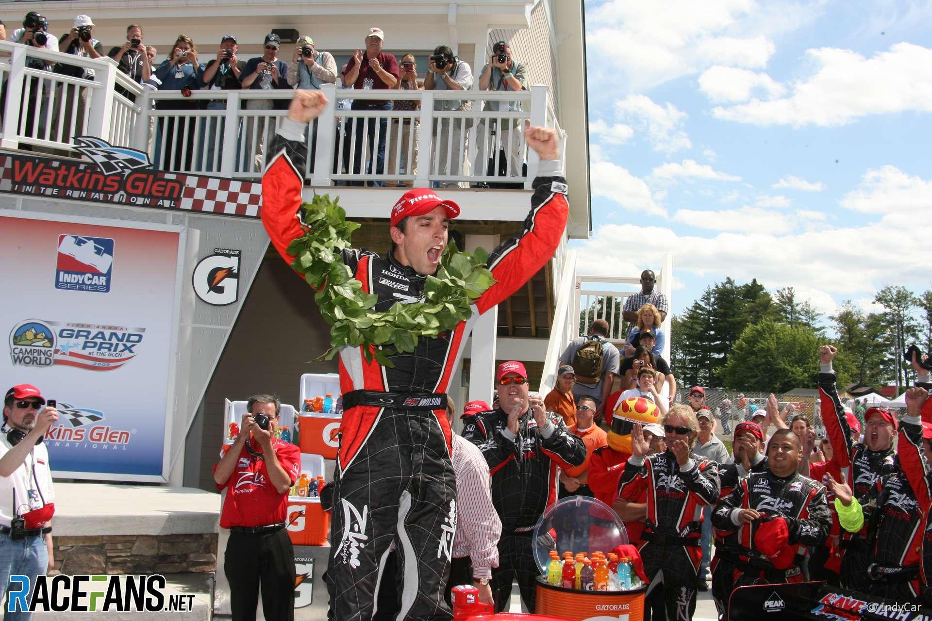 Justin Wilson, Dale Coyne, IndyCar, Watkins Glen, 2009