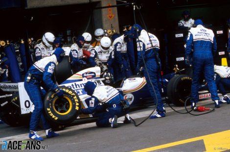 Damon Hill, Williams, Interlagos, 1994
