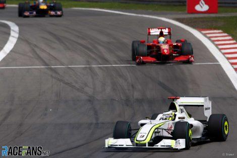 Jenson Button, Brawn, Nurburgring, 2009