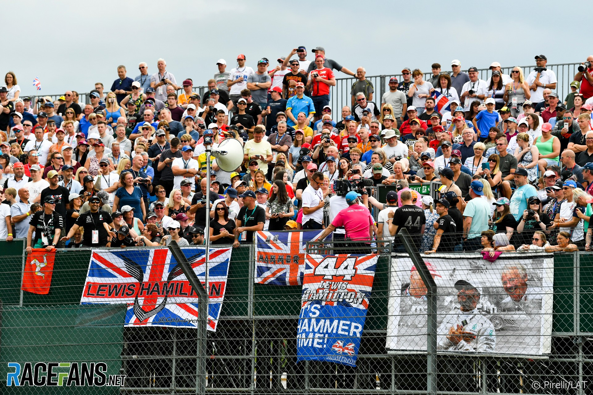 More F1 venues following Silverstone's lead in aim for full crowds