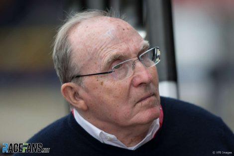 Frank Williams, Silverstone, 2019