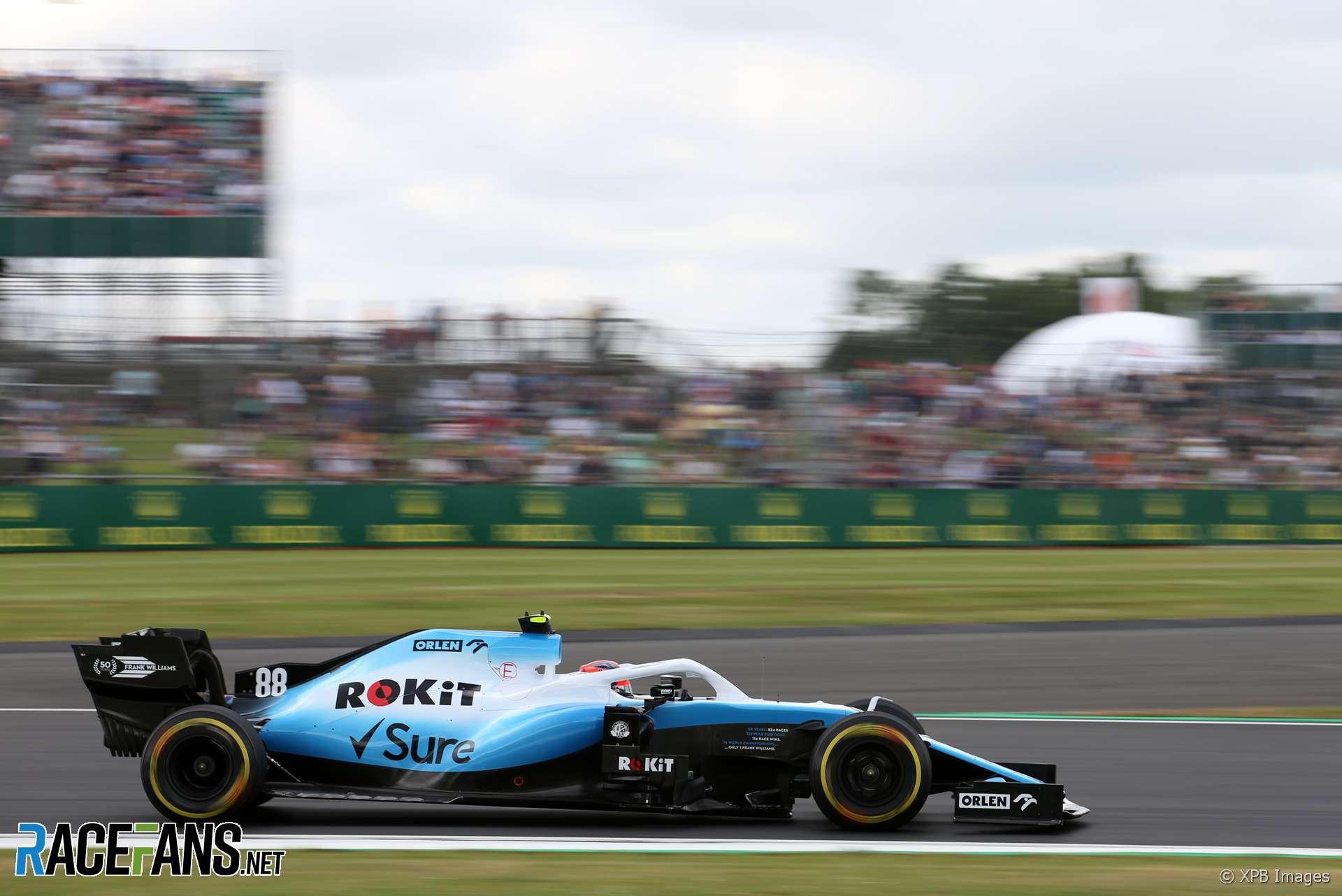 Robert Kubica, Williams, Silverstone, 2019