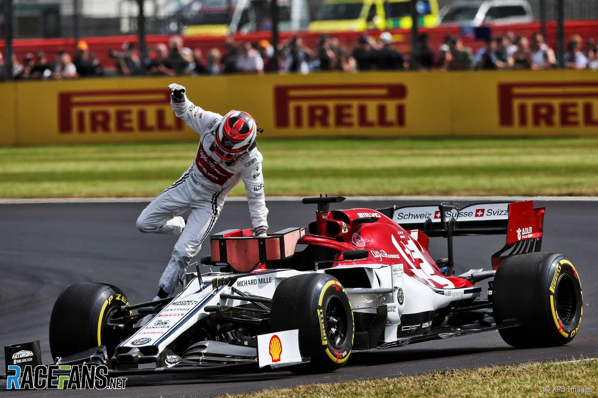 Kimi Raikkonen, Alfa Romeo, Silverstone, 2019