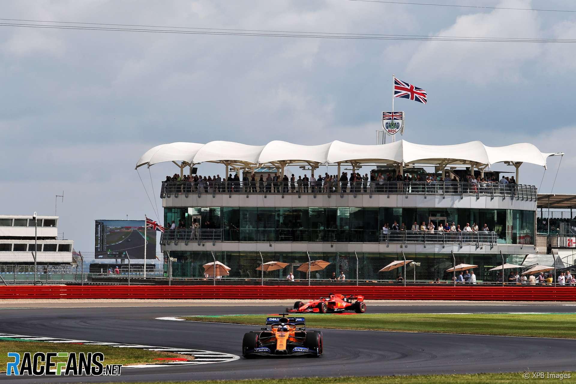 Carlos Sainz Jnr, McLaren, Silverstone, 2019