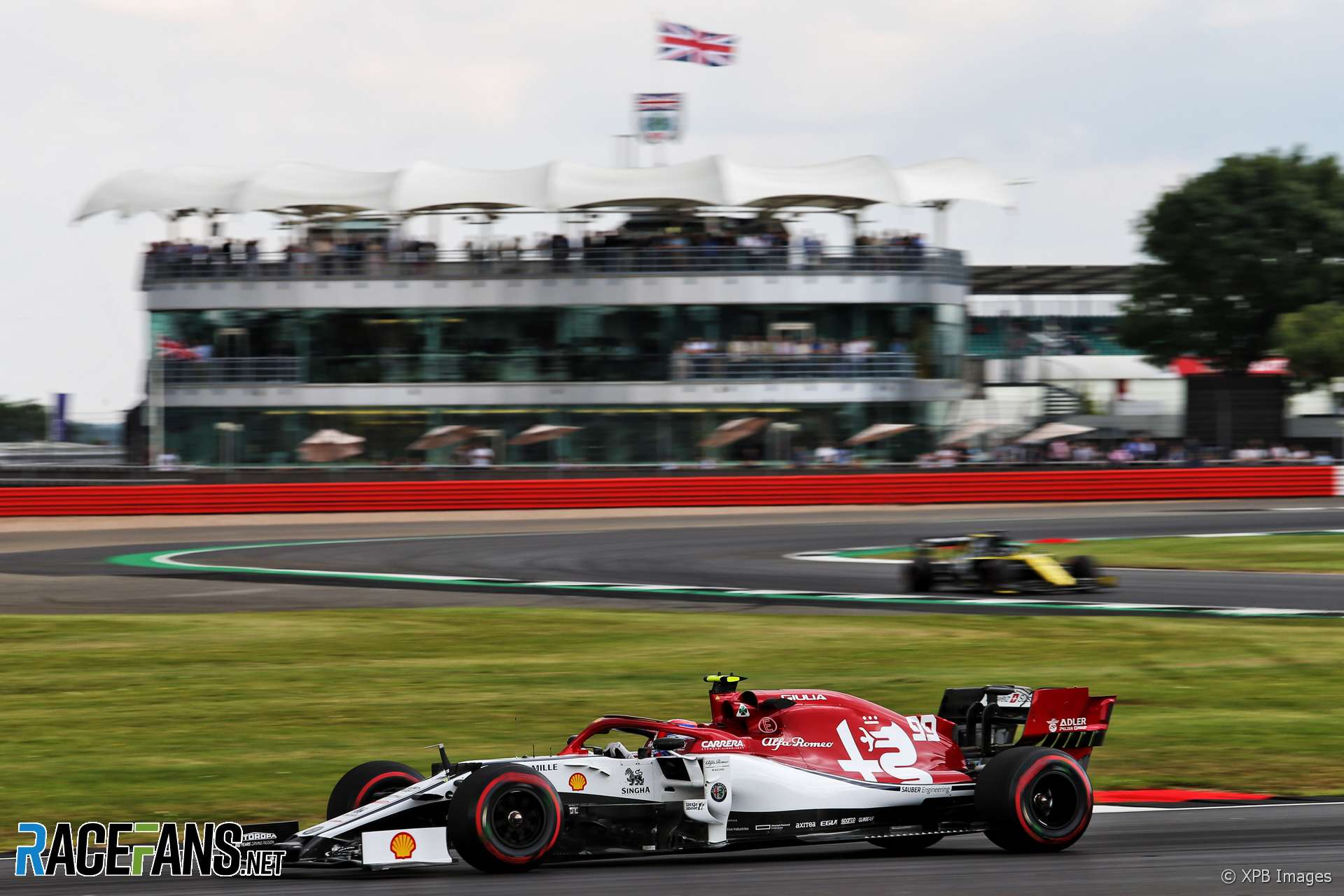 Antonio Giovinazzi, Alfa Romeo, Silverstone, 2019
