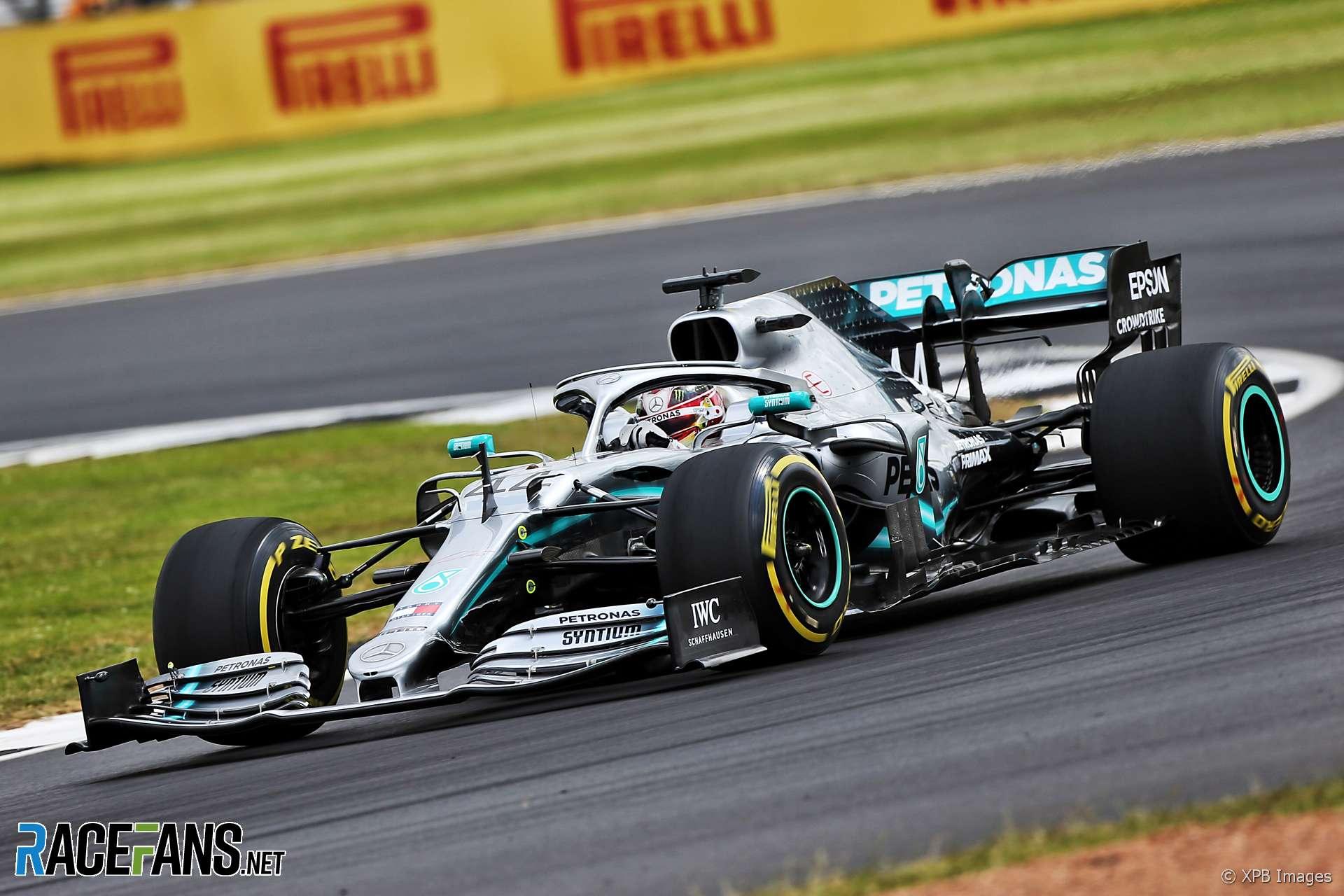 Lewis Hamilton, Mercedes, Silverstone, 2019
