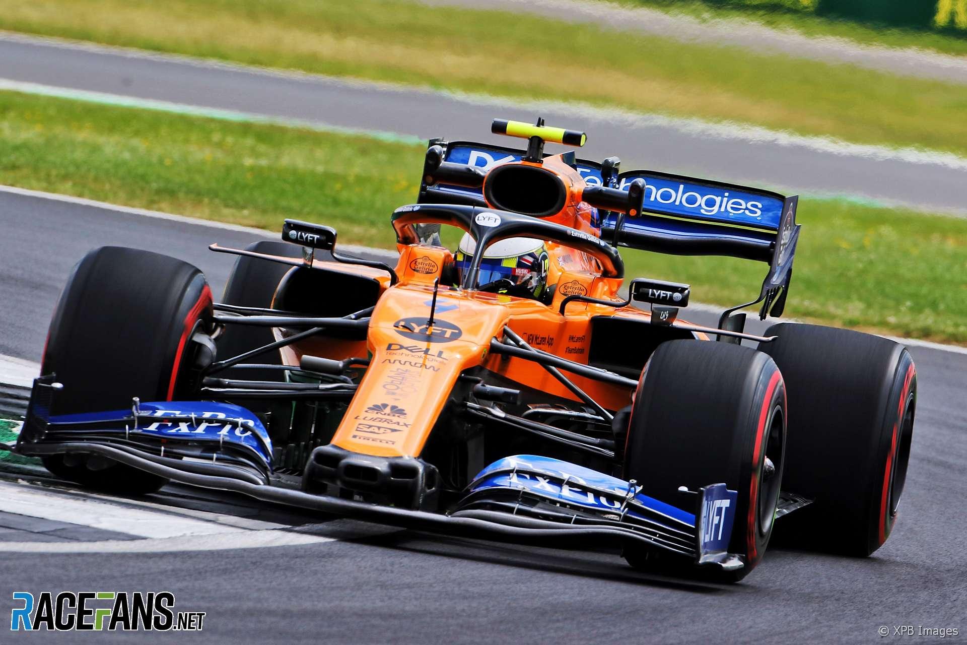 Lando Norris, McLaren, Silverstone, 2019