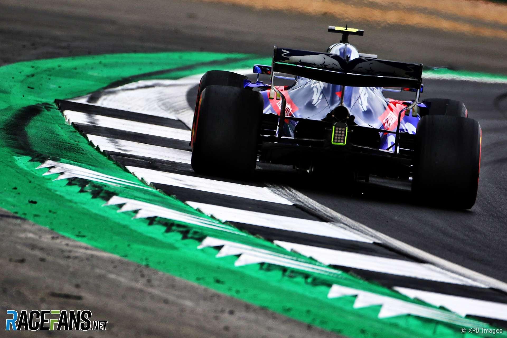 Alexander Albon, Toro Rosso, Silverstone, 2019