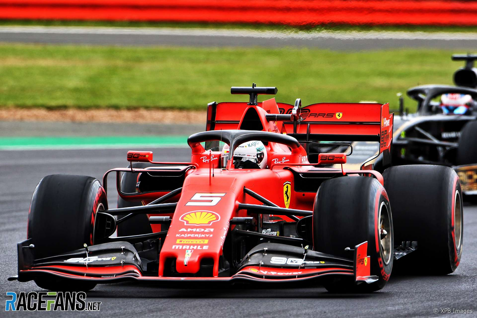 Sebastian Vettel, Ferrari, Silverstone, 2019
