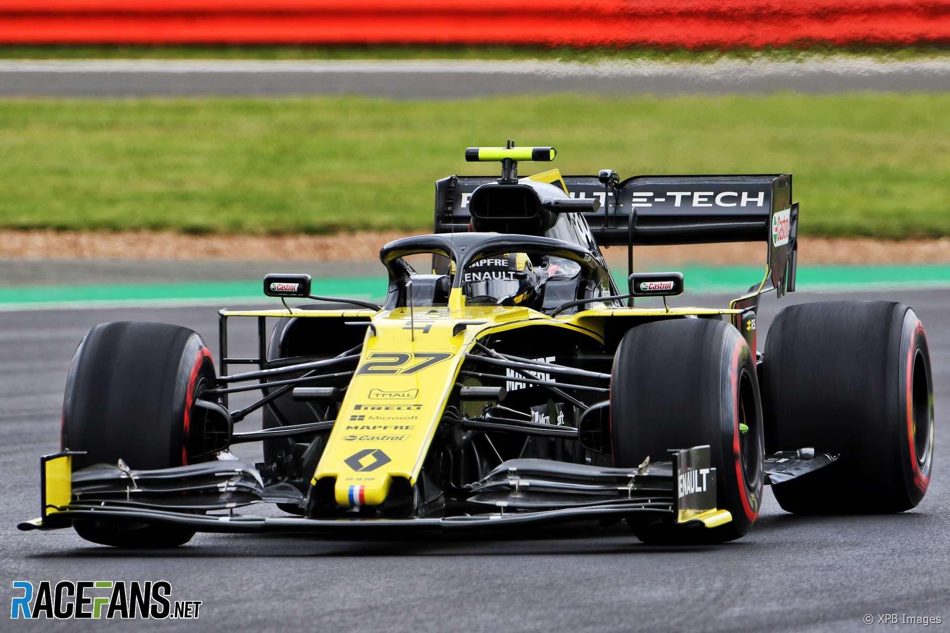 Nico Hulkenberg, Renault, Silverstone, 2019