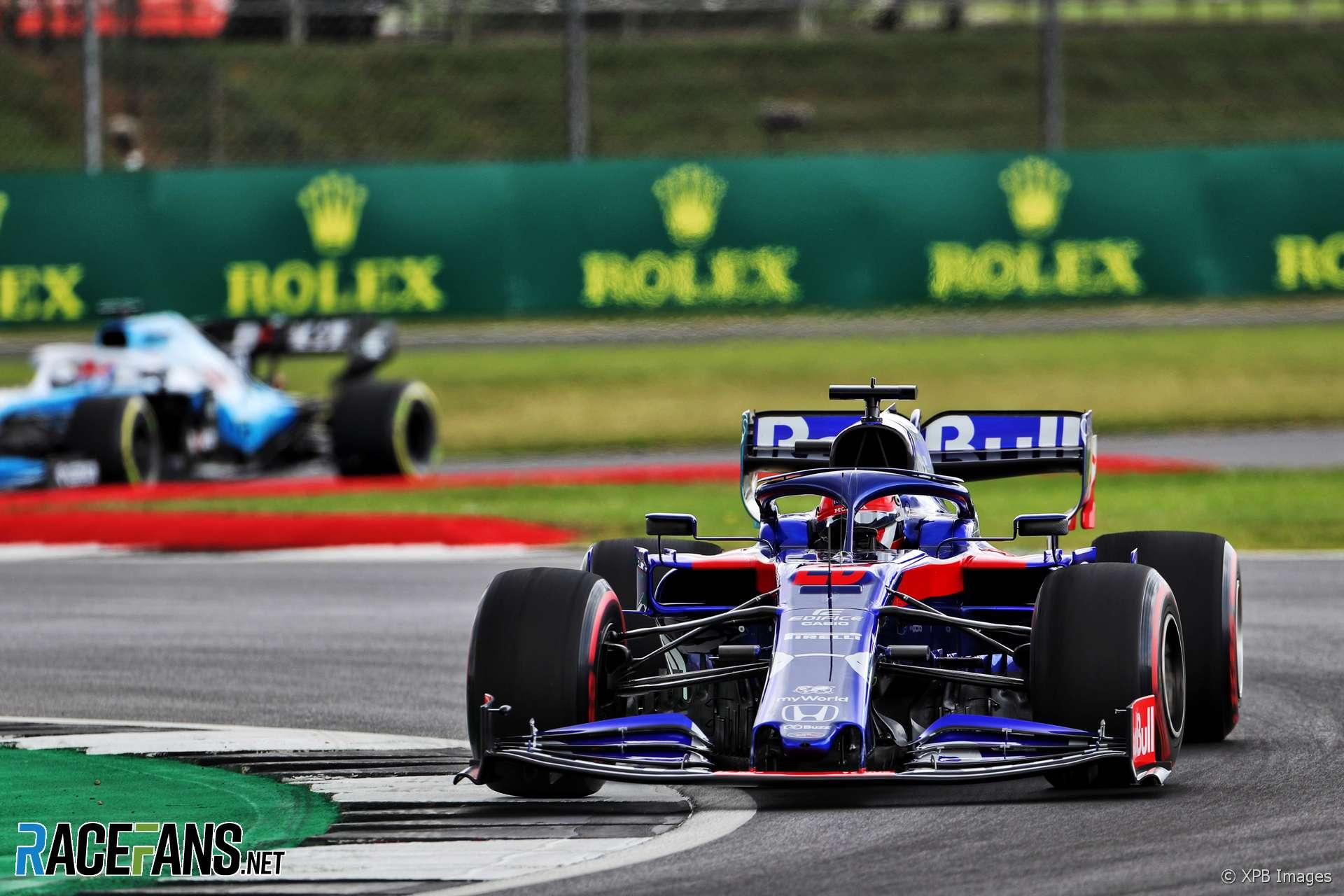 Daniil Kvyat, Toro Rosso, Silverstone, 2019