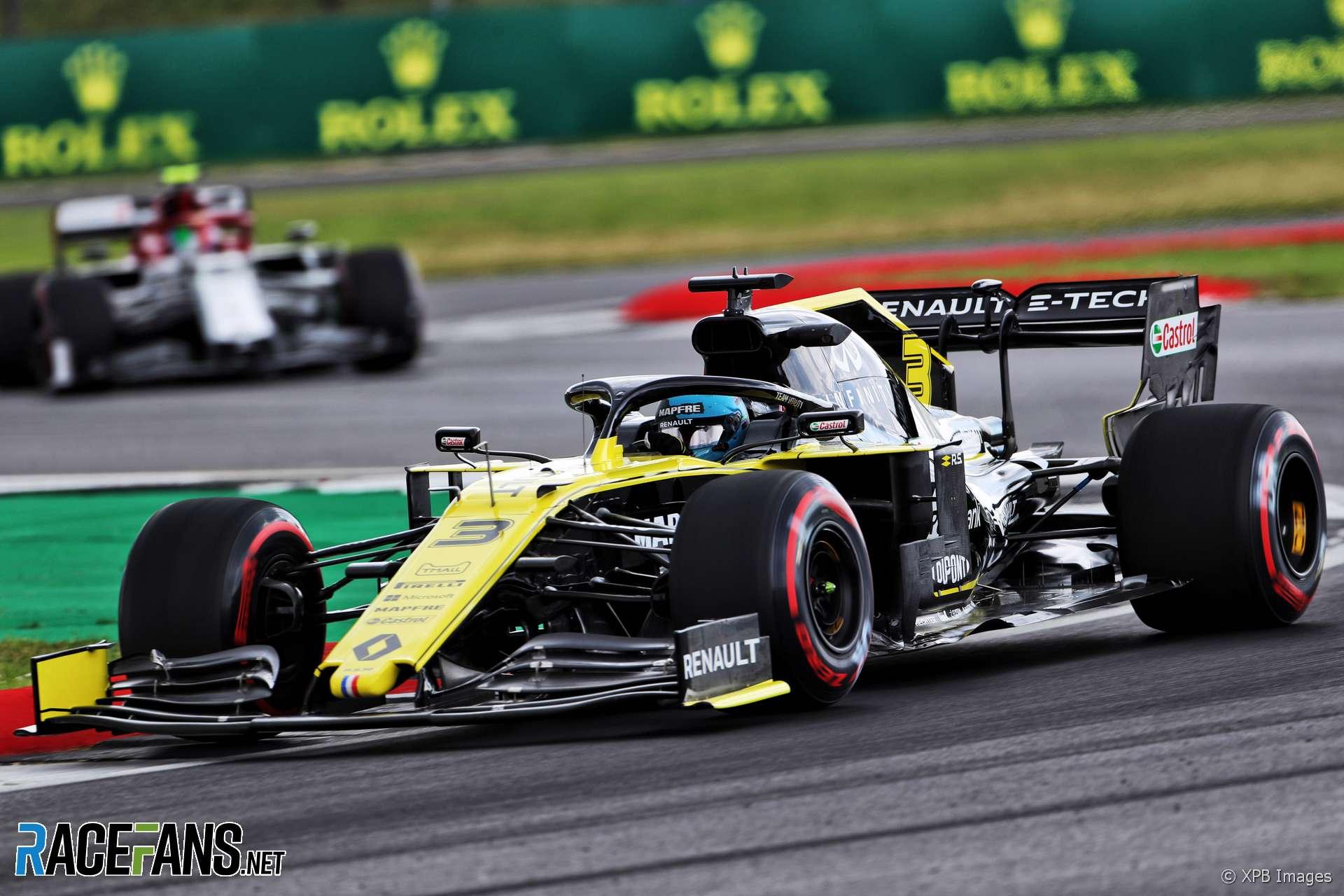 Daniel Ricciardo, Renault, Silverstone, 2019