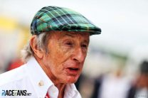 Sir Jackie Stewart recovering after knee surgery