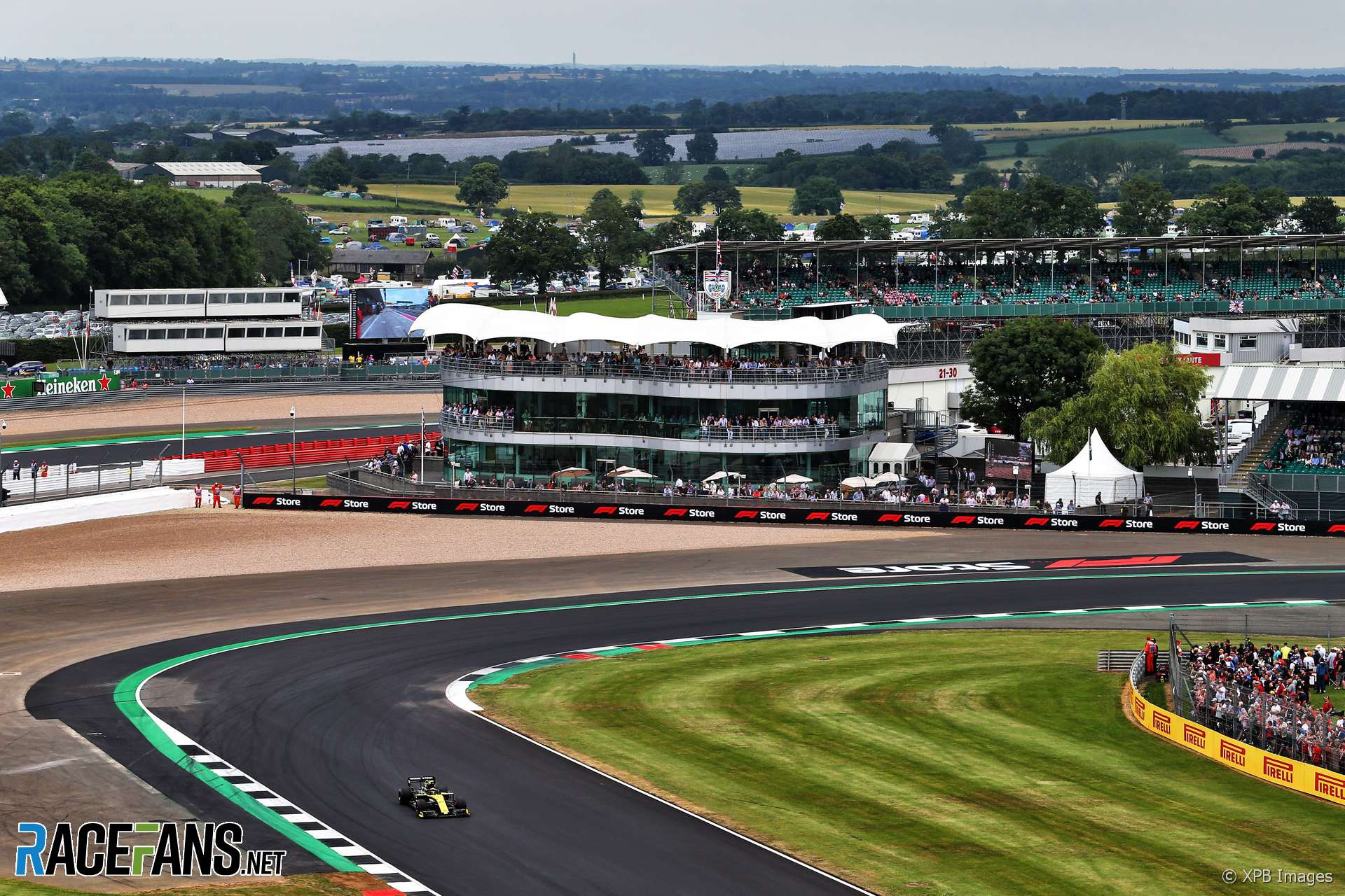 An F1 race at Silverstone this year may be more trouble than it's worth