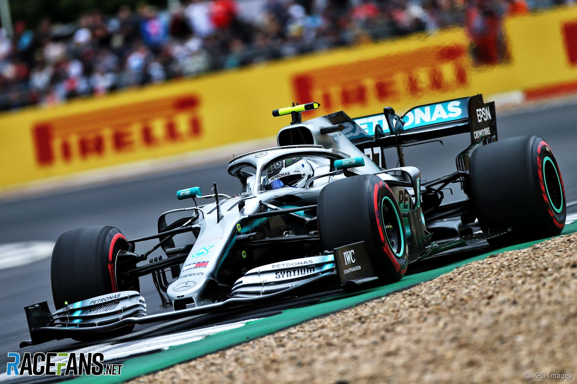 "Bottas ""surprised"" Hamilton beat his fastest lap on hard tyres"
