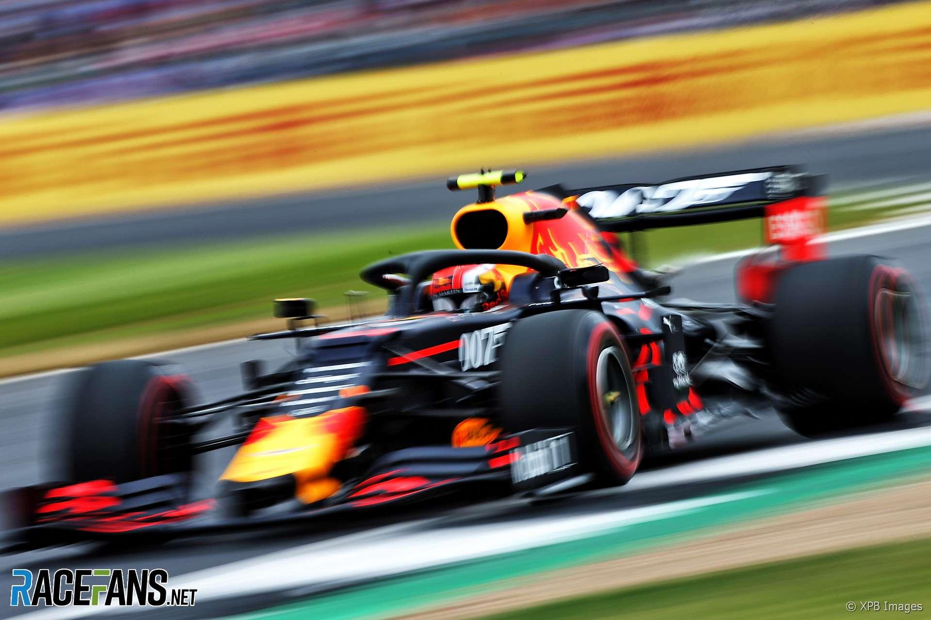Pierre Gasly, Red Bull, Silverstone, 2019