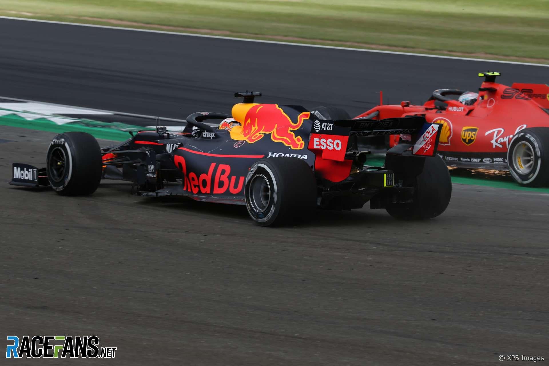 Charles Leclerc, Max Verstappen, Silverstone, 2019