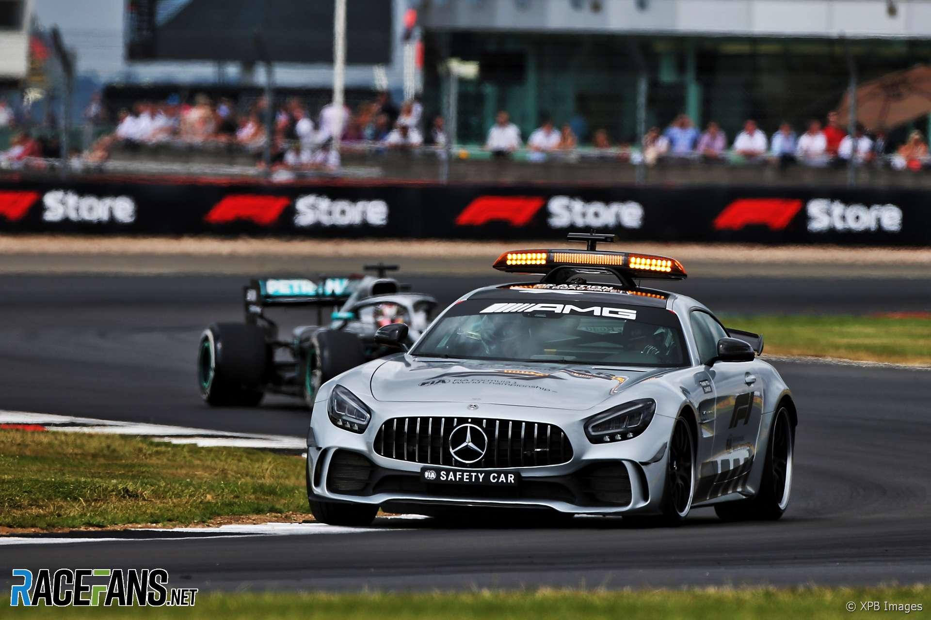 F1: Lewis Hamilton says Safety Car didn't win him the race