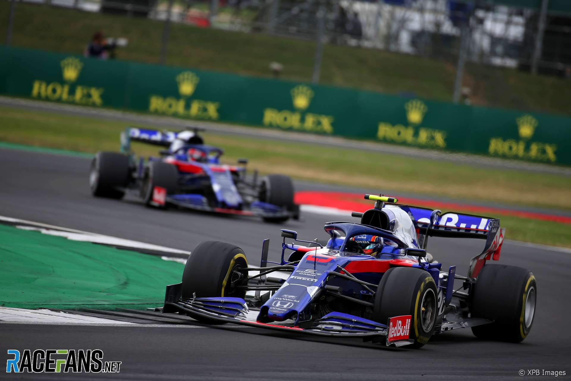 High voltage safety warning meant Albon couldn't pit