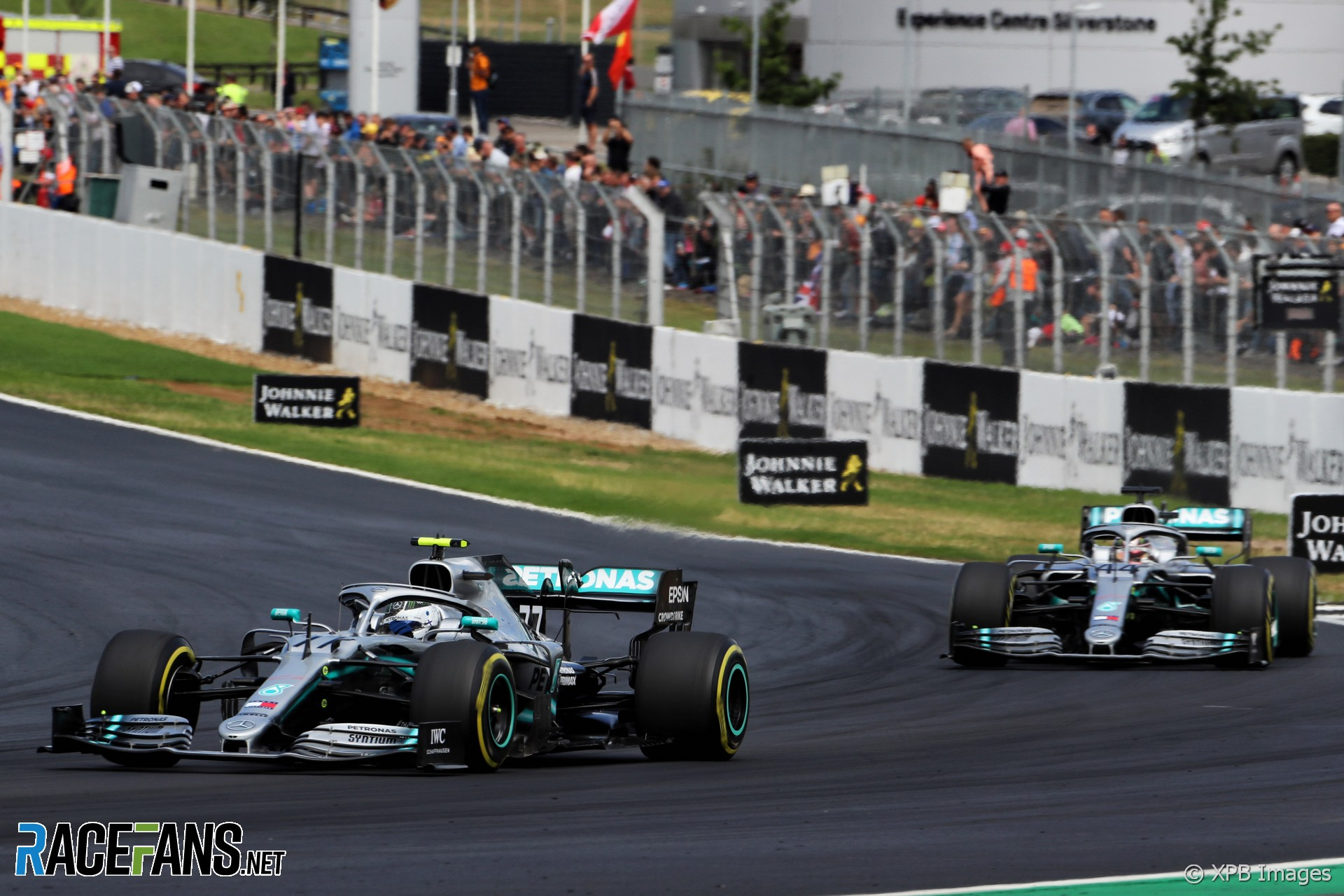 Valtteri Bottas, Lewis Hamilton, Mercedes, Silverstone, 2019
