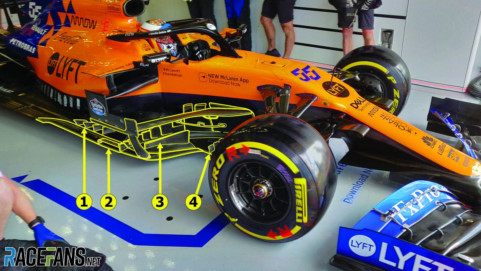 F1 Tech The Updates Helping Mclaren Pull Away From Renault Racefans