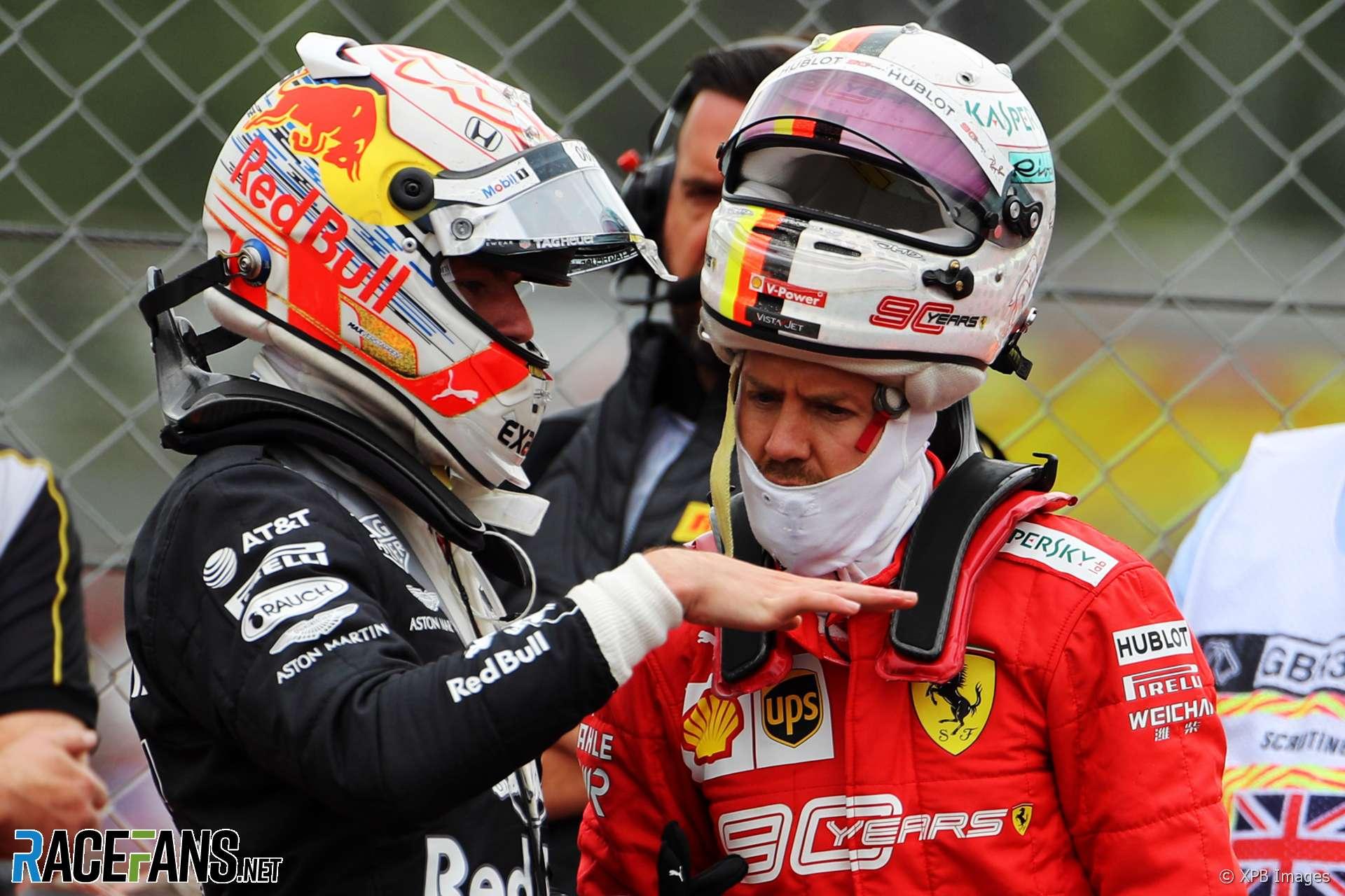 Caption Competition 154: Verstappen and Vettel