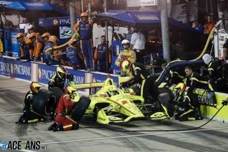 Simon Pagenaud, Penske, IndyCar, Iowa, 2019