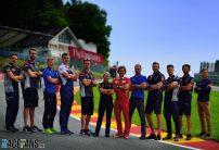 Hintsa team members at Spa