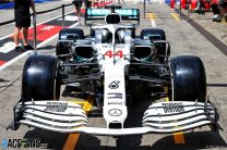 Mercedes paint cars white for German Grand Prix