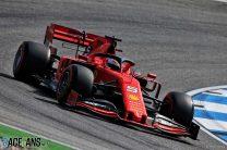 Vettel leads Ferrari one-two in Hockenheim