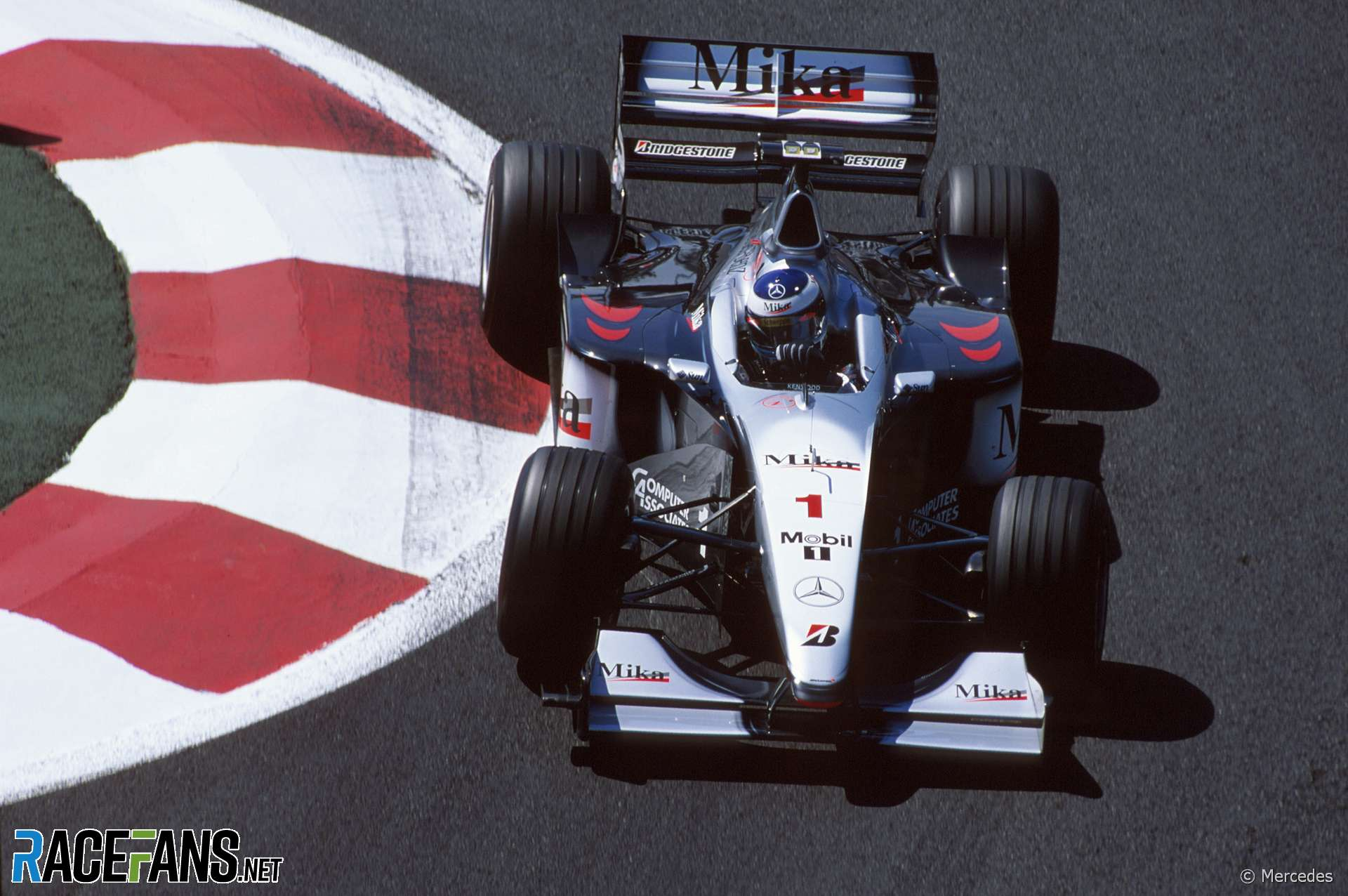 Mika Hakkinen, McLaren, Magny-Cours, 1999